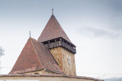 Axente Sever fortified church Royalty Free Stock Images