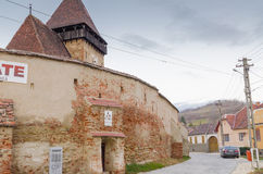 Axente Sever fortified church Royalty Free Stock Photo