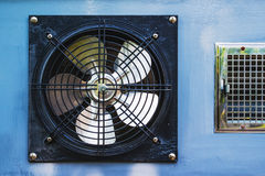 Axial cooling fan Royalty Free Stock Photography