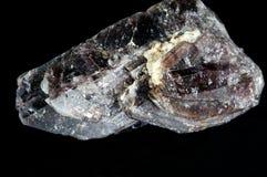 axinite水晶 库存图片