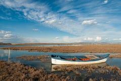 Axios delta i Grekland Royaltyfria Foton