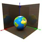Axis of globe Stock Photos
