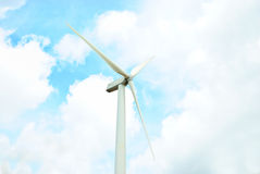 Axis Turbine. Picture , Axis Turbine , turn at day time Royalty Free Stock Photo