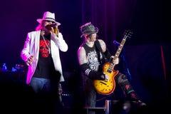 Axl ro och Chris Pitman Royaltyfri Fotografi
