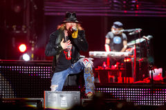 Axl Rose Images libres de droits