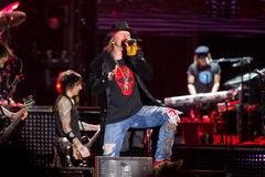 Axl Rose Photos libres de droits