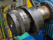 Axle dyszel silnik zdjęcie stock