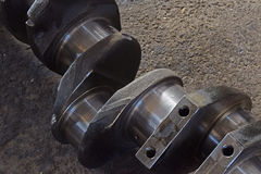 The axle for engine track Stock Photography