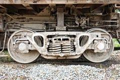 axle furgonu koło Zdjęcia Stock