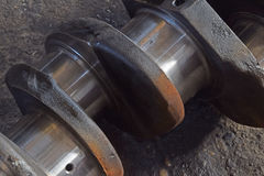 The axle for pistons for engine Royalty Free Stock Photo