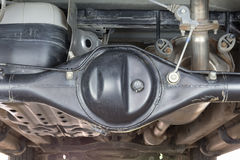 Axle shaft car Stock Photography