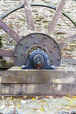 Axle and spokes of water wheel. Stock Photography