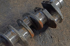 The  axle truck for pistons Stock Images