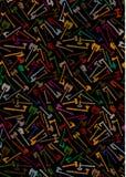 Axt-und Kampf-Axt-Hintergrund Stockfoto