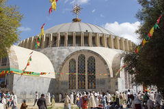 Axum, Etiopia, Afryka Obraz Royalty Free