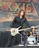 Axxis on Masters of Rock. Festival 2009, Vizovice, Czech republic Stock Photo