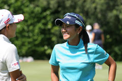 Ay Miyazato Evian Golf Masters 2006 Royalty Free Stock Photos