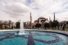Aya索非亚寺庙,伊斯坦布尔 免版税库存图片