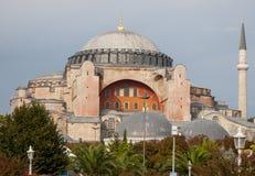 Aya索非亚教会在伊斯坦布尔 图库摄影