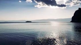 Aya-Bucht beim Baikalsee stock video footage