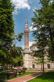 Aya Irini - Hagia Irene Church. Vertical photo of Aya Irini or Hagia Irene Church located at Istanbul Turkey. It is placed in the garden of Topkapi Palace Royalty Free Stock Photo