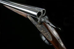 AYA No. 2 Round Action 12 Bore Shot Gun stock images