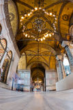 Aya Sofia. The interior of Aya Sofia museum in istanbul royalty free stock photo