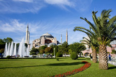 Aya Sofia. Mosque in Istanbul royalty free stock photos