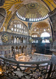 Aya Sofia. The interior of Aya Sofia museum in istanbul royalty free stock image