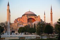 Aya Sofia, Istanbuł, Turcja obrazy royalty free