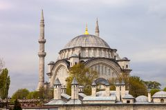 Aya Sofia Mosque in Istanbul, Turkey Royalty Free Stock Photo