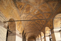 Aya Sofia-plafond stock afbeeldingen
