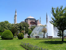 Aya Sofya. Or Haghia Sophia, one of the seven wonders of the world, Istanbul, Turkey Stock Photos