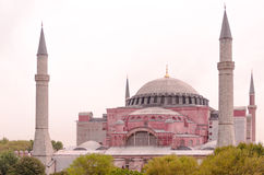 Aya sofya church Royalty Free Stock Images