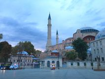 The Aya Sofya or Hagia Sofia. The Aya Sofia, Istanbul, Turkey royalty free stock images