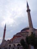 The Aya Sofya (Hagia Sofia). The Aya Sofia, Istanbul, Turkey stock photography