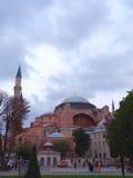 The Aya Sofya (Hagia Sofia). The Aya Sofia, Istanbul, Turkey royalty free stock photography