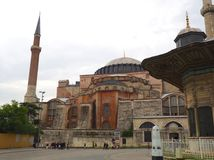 Aya Sofya & x28; Hagia Sofia& x29; Royalty-vrije Stock Afbeelding