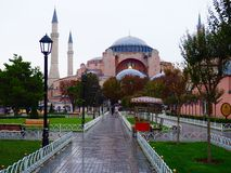 Aya Sofya & x28; Hagia Sofia& x29; Stock Foto