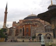 Aya Sofya & x28; Hagia Sofia& x29; Stock Afbeeldingen