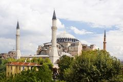 Aya Sofya Istambul Royalty Free Stock Photos