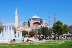 Aya Sofya in Istanbul. Aya Sofya in Istanbul, Turkey Royalty Free Stock Photo