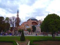 Aya Sofya u. das x28; Hagia Sofia& x29; Lizenzfreie Stockfotografie