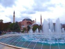 Aya Sofya u. das x28; Hagia Sofia& x29; Lizenzfreies Stockbild