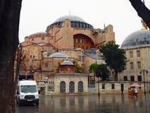 Aya Sofya u. das x28; Hagia Sofia& x29; Stockfotografie