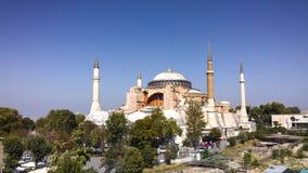 Aya sophia, indyk, Istanbul Fotografia Stock