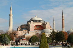 Aya Sophia in Istanbul Royalty Free Stock Photos