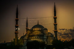 Aya Sophia at night Stock Photo
