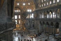Aya Sophia view from the 2-nd floor Royalty Free Stock Photos