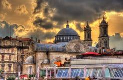 Aya Triada教会在伊斯坦布尔 免版税库存图片